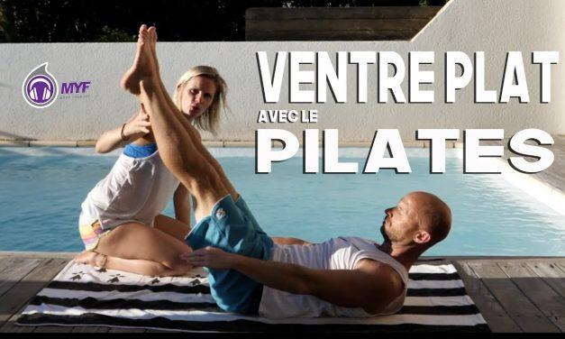10 minutes pour un VENTRE PLAT grâce au PILATES Feat. Happy Coach – Alexandre Mallier