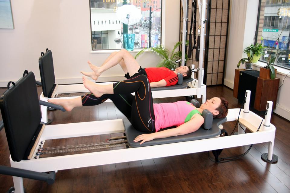 Classe de réformateur de Pilates