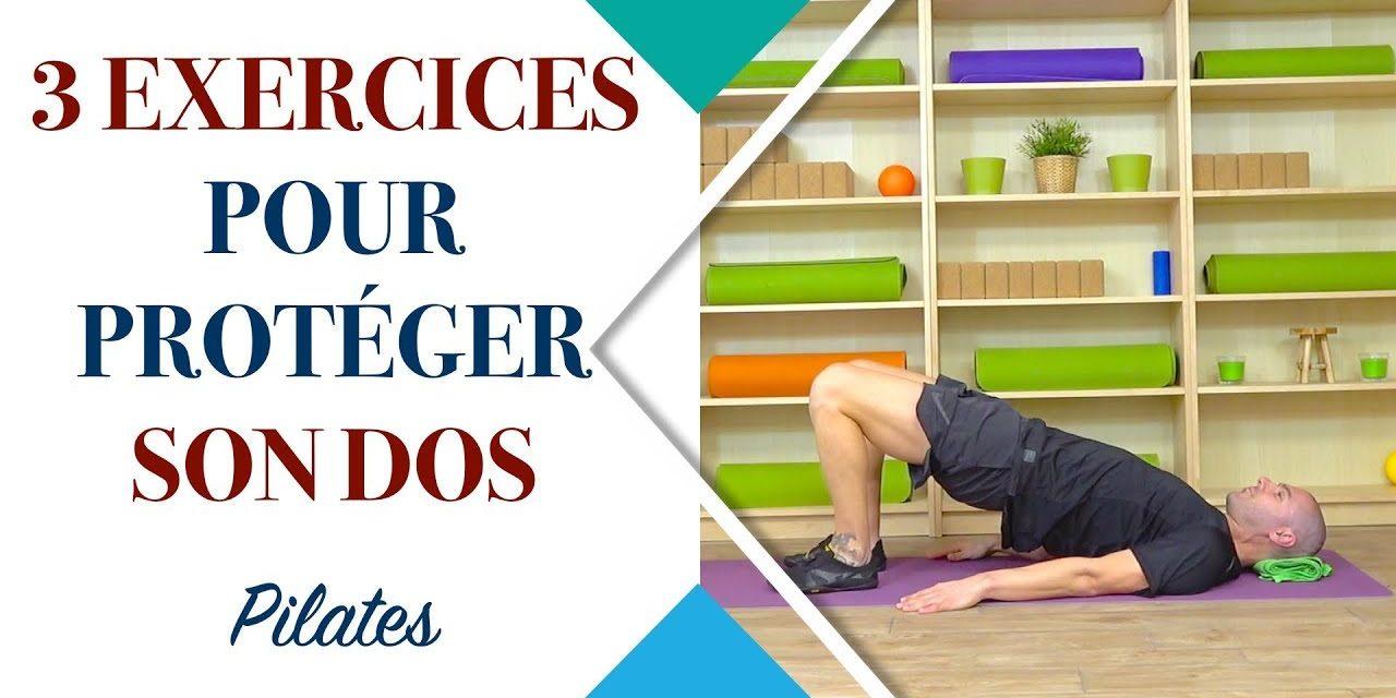 3 exercices de Pilates pour protéger son dos