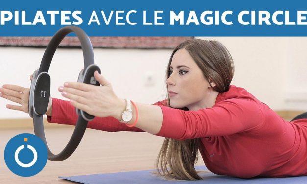 EXERCICES DE PILATES avec le Magic Circle – Pilates ring ou anneau de force