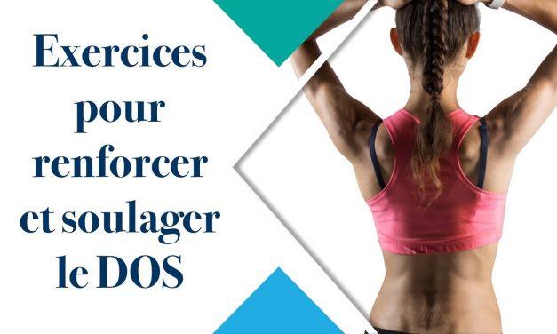 Exercices pour renforcer et soulager le dos (Méthode Pilates)