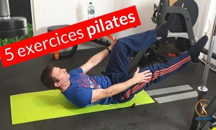 Petite séance pilates de 5 exercices