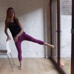 Pilates Fusion   Exercices de renforcement avec une chaise