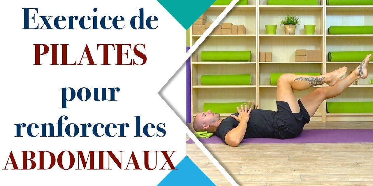 Vous débutez le Pilates ? Testez cet exercice de renforcement des abdominaux. The single leg Stretch