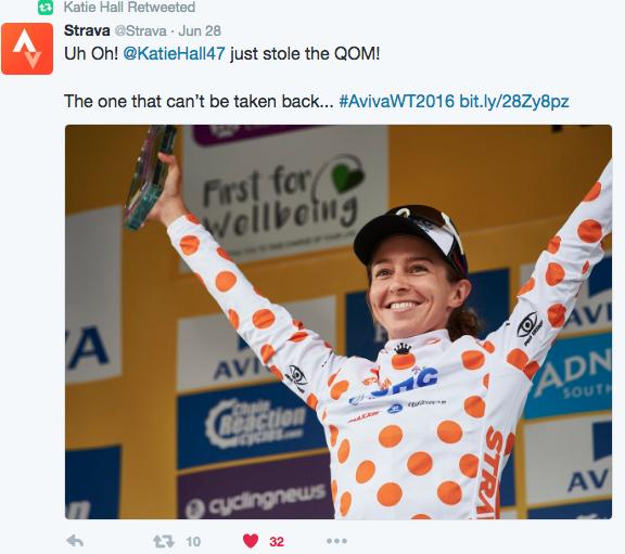 Katie Hall gagne